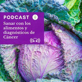Sanar con los alimentos y los diagnósticos de cáncer