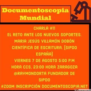 Pericia Caligráfica y Nuevos Soportes con María Jesús Villamón Dobón