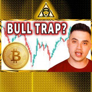 BITCOIN BULL TRAP??? Bitcoin Crashes Then Rebounds {Audio #43}
