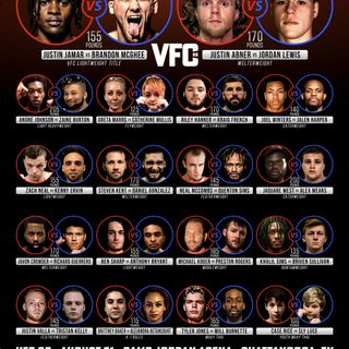 Valor Fighting Challenge 86 (Fight Card)