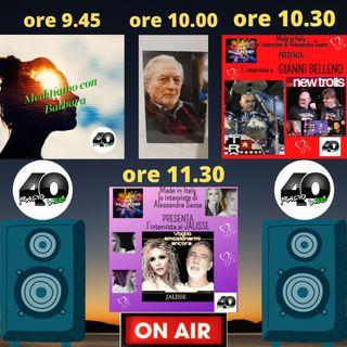 "Radio 40 ""Forty Morning"" Giovedi Matina 18/02/2021"
