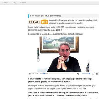 798 www.ecommercekit.it per il checkup delle tue condizioni di vendita