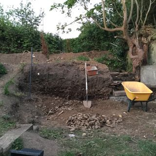 Survey Of On-going Summer Dig E496
