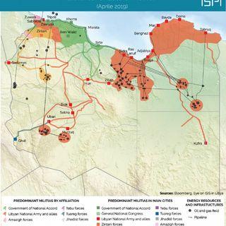 Libia - Forse meglio se divisa (28apr2019)