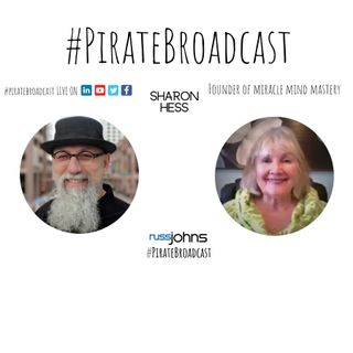 Catch Sharon Hess on the PirateBroadcast