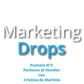 MarketingDrops Estate Parliamo di Vendite con Cristina De Martinis di Direttore Vendite in Affitto