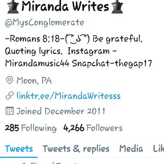 I WEIGH WHAT? - Miranda Bey
