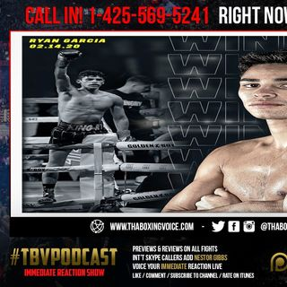 "☎️Immediate Reaction ""King"" 👑 Ryan Garcia Shocks The World 🌎 With 1 Round KO Fonseca❗️"