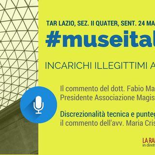 Speciale - Sentenza TAR Lazio su #museitaliani