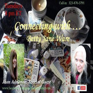 The Connecting with ... Show ~ Special Guest: Jean Adrienne ~ 1August2017
