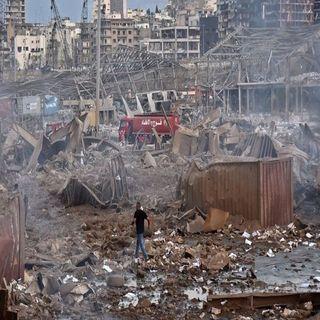 Dos mil 750 toneladas de nitrato de amonio causante de tragedia en Beirut