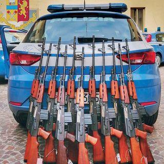 45 armi sequestrate e 56 diffide