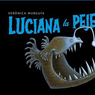 """Tras las Huellas de la Naturaleza contando """"Luciana La Pejesapo"""",  Libro de Verónica Murguía y Juan Gedovius"""