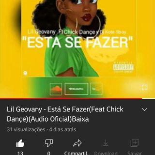 Lil Geovany - Está Se Fazer(Ft Chick Dançe)-mc