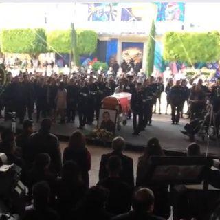 Con un homenaje despiden al alcalde de Chalco