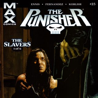 "Source Material #208 - Punisher MAX v5 - ""The Slavers"" (Marvel, 2005)"