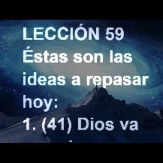 LECCIÓN 59 - Libro de Ejercicios. Un Curso de Milagros (Audiolibro)