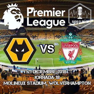 Wolverhampton Wanderers vs Liverpool en VIVO