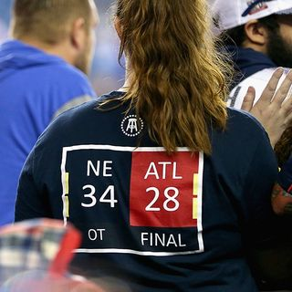 City Of Atlanta Over Patriots Super Bowl LI Loss