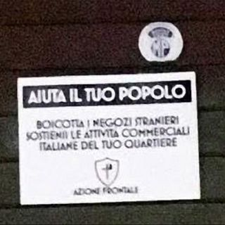 "MondoRoma - NNS No ai negozi ""stranieri"": NeoNazismo alla carbonara?"