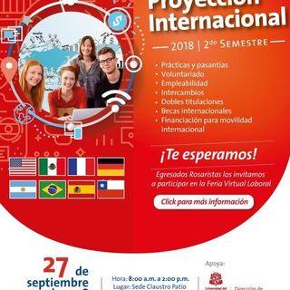 Más de 30 empresas reconocidas buscan #TalentoRosarista Mundo Laboral 27/09