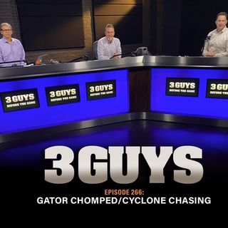 Gator Chomped and Cyclone Chasing with Tony Caridi, Brad Howe and Hoppy Kercheval
