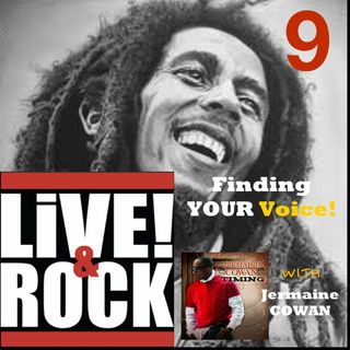 Ep 9: Top 5 Reggae List & Finding Your Voice with J. COWAN