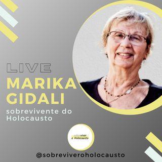 Marika Gidali: live com a sobrevivente do Holocausto