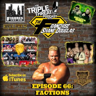 Shane Douglas And The Triple Threat Podcast EP 66: FACTIONS