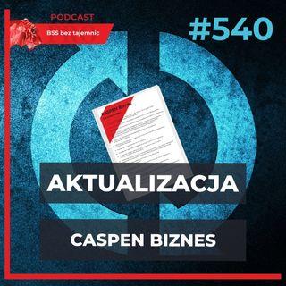 #540 Aktualizacja CASPEN Biznes