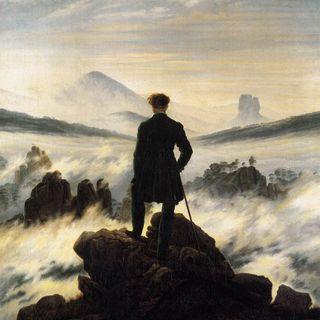 Viandante davanti al mare di nebbia  Friederich