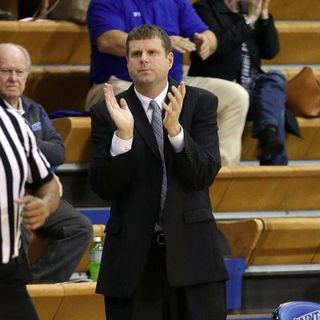 Special guest Drew Cooper Thomas Moore Mens Basketball Coach