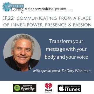 Communicating from a place of inner power, presence and passion
