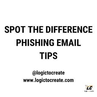 Spot The Difference - Phishing Email Tips