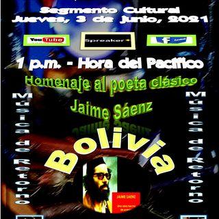 Homenaje al poeta clásico boliviano, Jaime Sáenz - Acompañado de música clásica de relajación