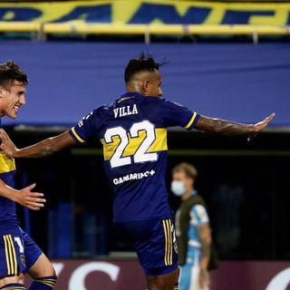 Gol de Boca: Sebastián Villa 2-0