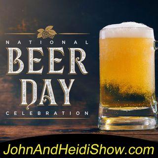 10-25-19-John And Heidi Show-ZachOHaire-NationalAmericanBeerDay