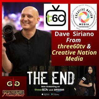 Dave Siriano Three60 TV / Creative Nation Media