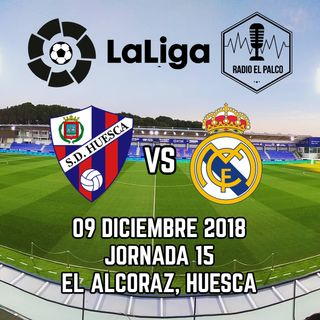 SD Huesca vs Real Madrid en VIVO