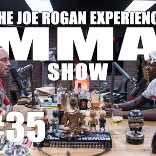 JRE MMA Show #35 with Israel Adesanya