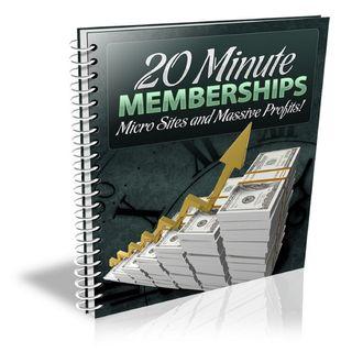 20 Minute Memberships