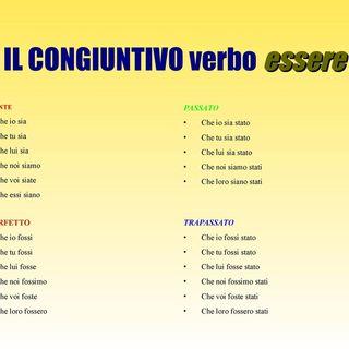 Grammatica italiana verbo Essere modo Congiuntivo