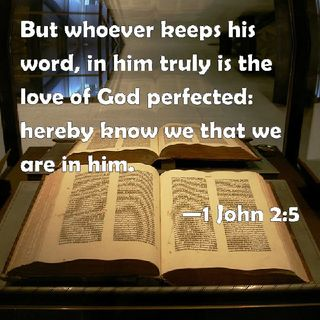 Loving Our Brother 1 John 2:3-11
