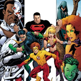 Source Material #252: Teen Titans 1-12 (DC, 2003)