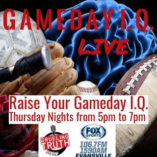 Gameday IQ.  Learn about sports history and trivia on this week's show