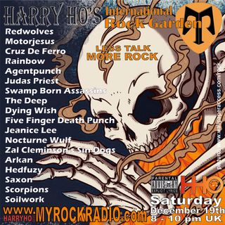 Harry Ho's intern. Rock Garden 19.12.2020
