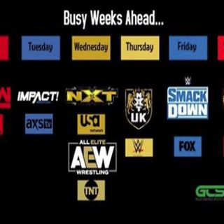 The Fall 2019 Wrestling TV Schedule