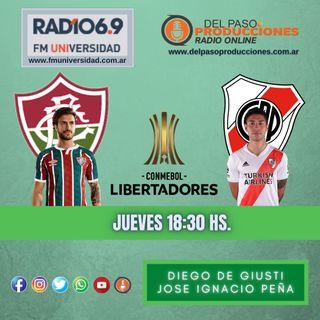 River empató con Fluminense en su estreno en la Libertadores