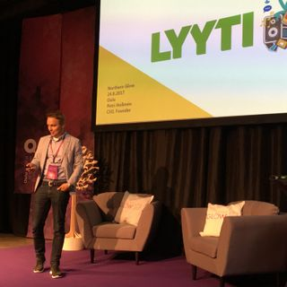 Petri Hollmén from Lyyti Event Management