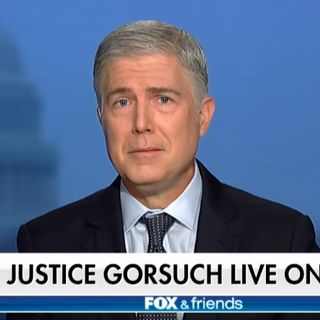 Episode 774 | Justice Gorsuch on Fox | Dem Primary Polling |  Trump's Unhinged Letter | The Black Vote